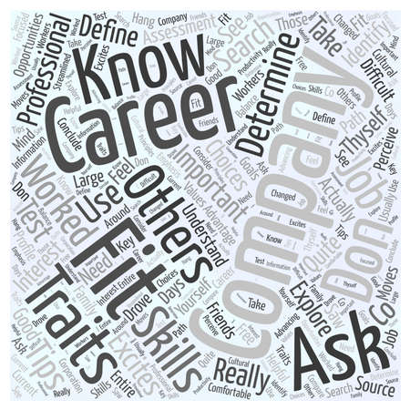 JH advertising job search tips Word Cloud Concept