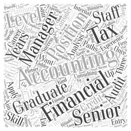 JH accounting jobs Word Cloud Concept