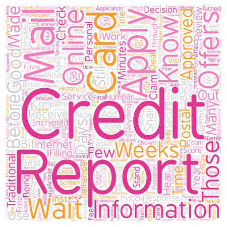 It Is Better To Get Your Credit Card Online text background wordcloud concept