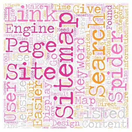 JP sitemap text background wordcloud concept