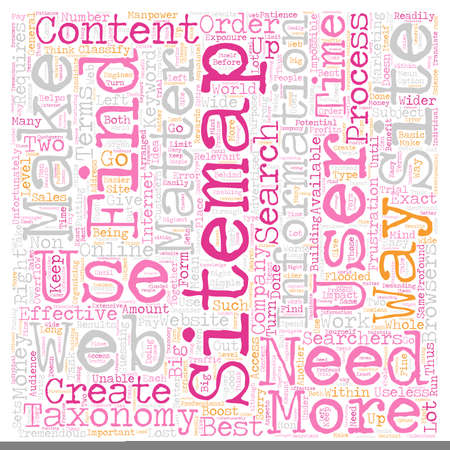 taxonomy: JP sitemap taxonomy 1 text background wordcloud concept Illustration