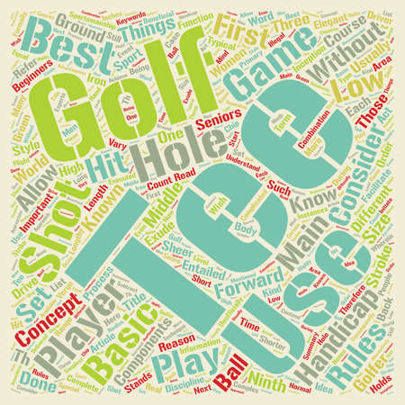 Know Your Course Tees text background wordcloud concept
