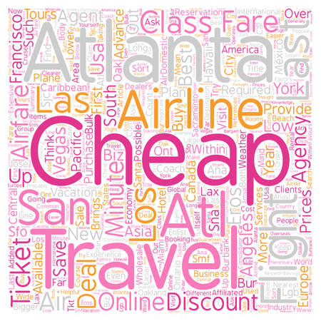 Last minute cheap air ticket text background wordcloud concept