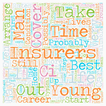 Life Insurance Plan For Life text background wordcloud concept