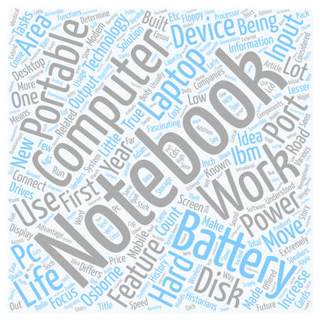 Life Story Of A Notebook text background wordcloud concept