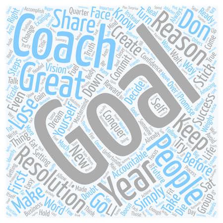 Make Your Goals Stick text background wordcloud concept