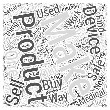 medical career: Making a Career Out Of Medical Devices Word Cloud Concept