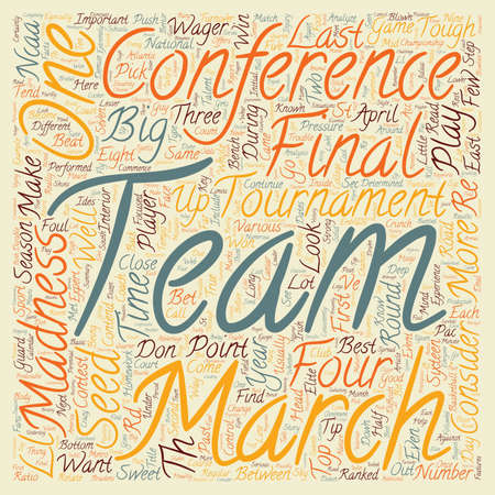 MARCH MADNESS You Can Bet on It text background wordcloud concept