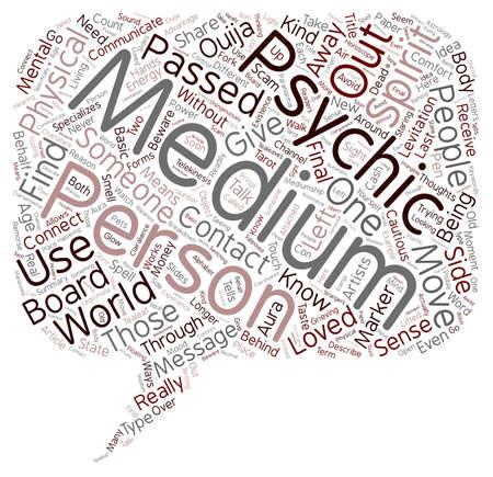 Mediums tekst achtergrond wordcloud begrip