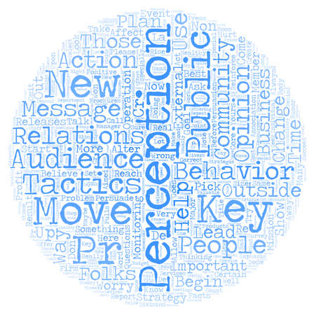 Maybe You SHOULD Worry About Your PR text background wordcloud concept