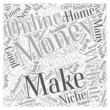 daunting: Making Money From Home Where Do You Start Word Cloud Concept