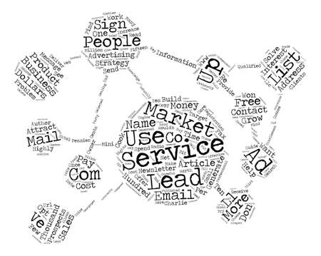 charlie: How To Generate Leads And Grow Your Business text background word cloud concept
