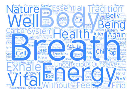 How to Tap your Inner Energy Reserves Word Cloud Concept Text Background