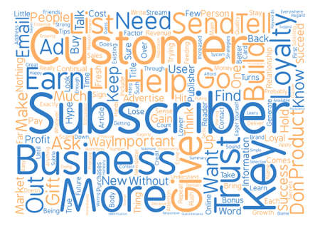 soliciting: Key Strategies to Earn Customer Loyalty Word Cloud Concept Text Background