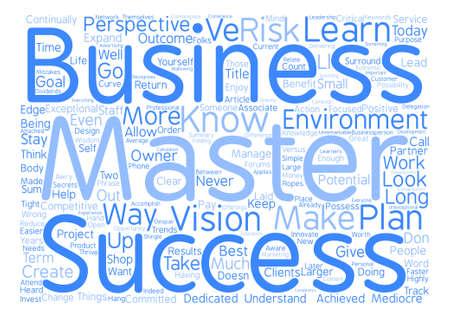 見事なビジネス人々 本文背景単語雲概念