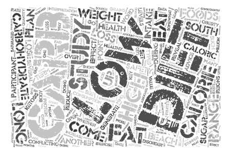 reigns: Low Carb Fad Diets Revealed Word Cloud Concept Text Background Illustration