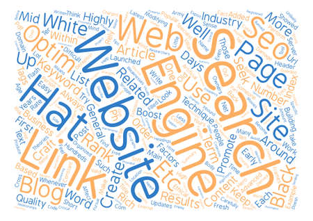 How To Promote Your Web Site text background word cloud concept Illustration