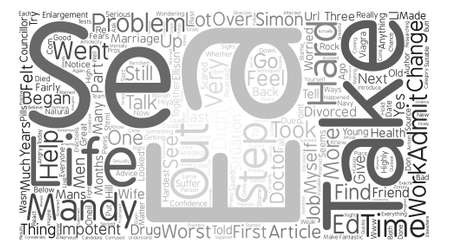let s: Let s Talk About Impotency text background word cloud concept