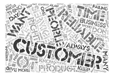 How to Keep Customers text background word cloud concept