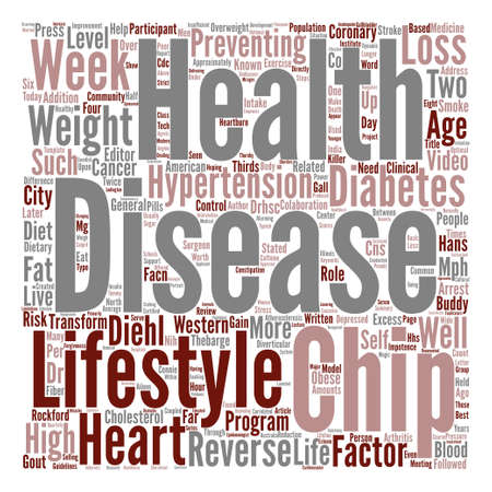 How People Reverse Heart Disease text background wordcloud concept