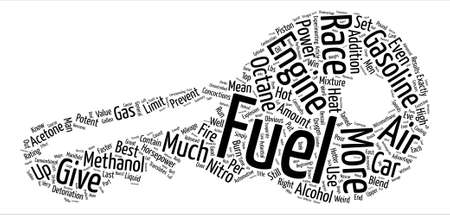 Hot Fuels For Fast Cars text background word cloud concept