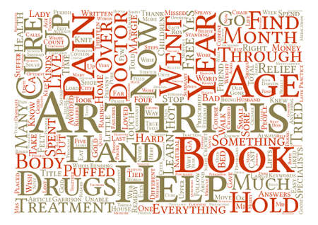 puffed: I Cured My Arthritis You Can Too text background word cloud concept