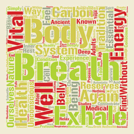 How to Tap your Inner Energy Reserves text background word cloud concept