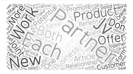 ventures: Joint Ventures What Are They How Do They Work text background word cloud concept