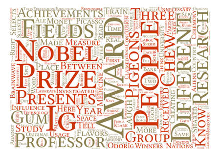 Ig Nobel Prizes Funniest Science Achievements text background word cloud concept
