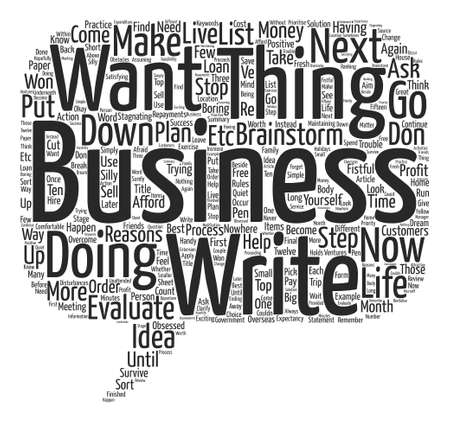 Know What You Want and Make It Happen text background wordcloud concept Illustration