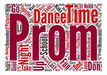 どのように素晴らしい、思い出に残るダンス パーティーの夜テキスト背景単語雲概念を持っている