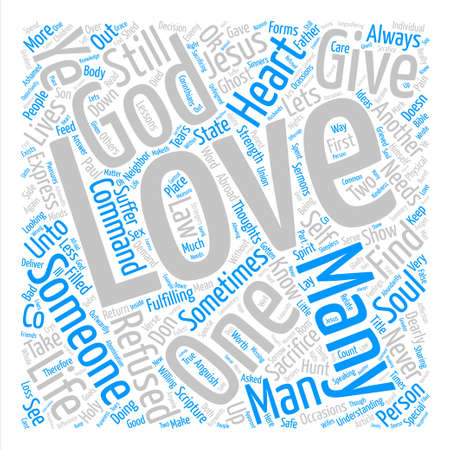 Its OK To Love text background word cloud concept