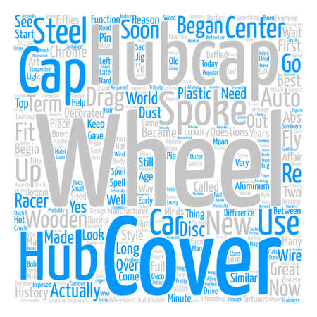 Hubcaps The History of the Great Cover Up text background word cloud concept
