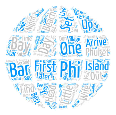 How To Find Honeymoon Phuket Island Thailand text background word cloud concept