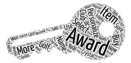 How To Buy Golf Awards Word Cloud Concept Text Background