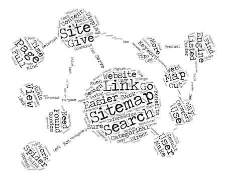 JP sitemap text background word cloud concept