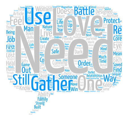 gatherer: Hunter and Gatherer text background word cloud concept