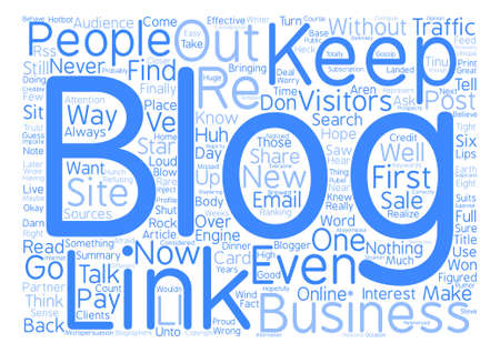How to Keep Your Blog Traffic text background wordcloud concept Vektoros illusztráció