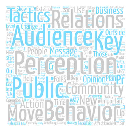 Maybe You SHOULD Worry About Your PR Word Cloud Concept Text Background