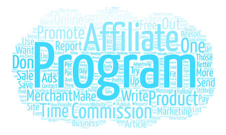 commissions: How To Boost Your Affiliate Commissions Overnight text background word cloud concept