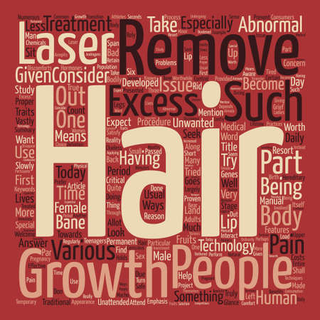 レーザー毛治療価値 A とテキスト背景単語クラウド コンセプトです。  イラスト・ベクター素材