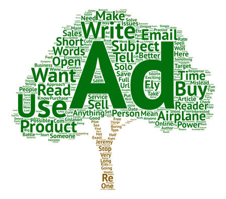How To Write Better Solo Ads text background word cloud concept