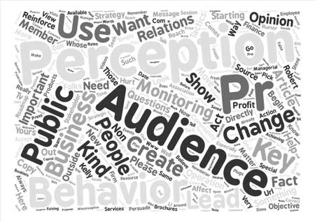 kelly: Just What Kind of PR Matters to You text background word cloud concept
