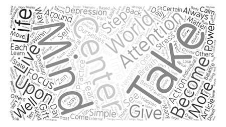 happening: How To Stay Calm When Life Isn t Word Cloud Concept Text Background