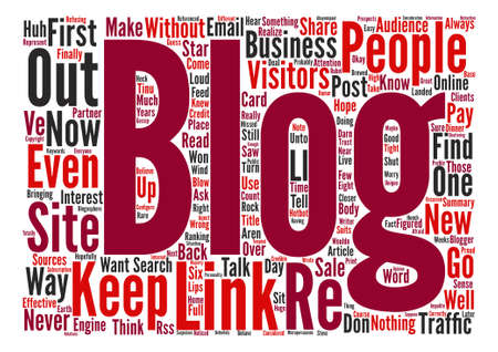 How to Keep Your Blog Traffic Word Cloud Concept Text Background