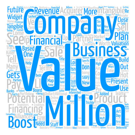 How To Boost The Value Of Your Business text background wordcloud concept