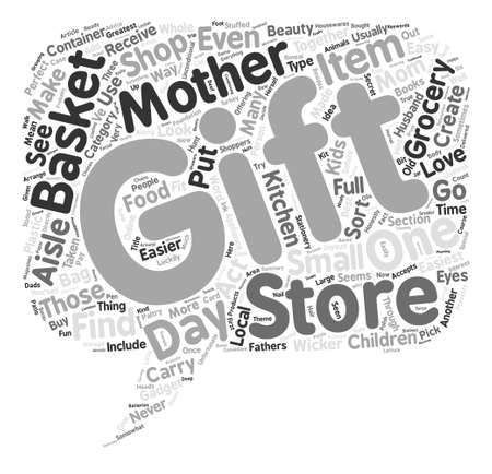 taken: Mother s Day Gifts Made Easy text background word cloud concept