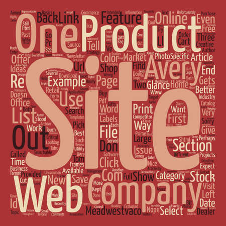 One Company That Gets the Web And One That Doesn t text background word cloud concept