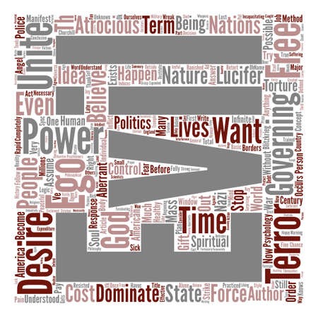 compel: On the Nature of Evil text background word cloud concept