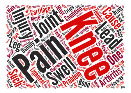 Pain That Brings You To Your Knees text background word cloud concept